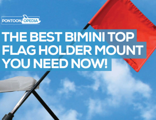 Best Bimini Flag Mount & Holder for Ski or American Flag