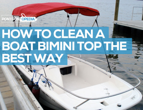 How to Clean a Bimini Top of Mildew & Mold Stains With No Bleach