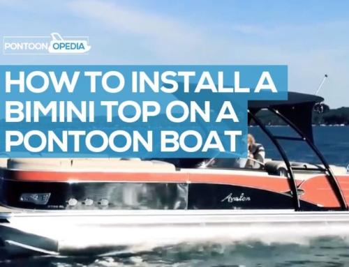 How to Install a Bimini Top on a Pontoon Boat