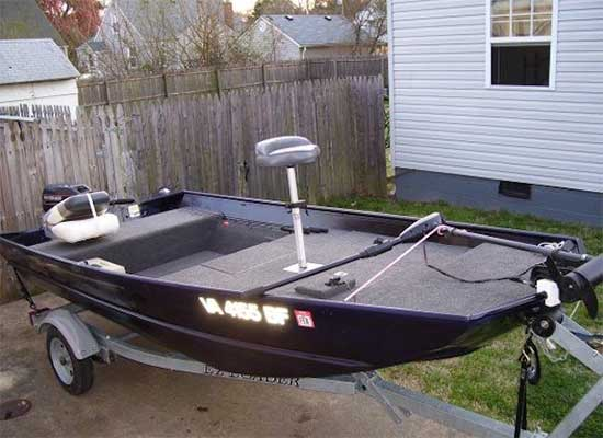 37 Best Jon Boat Mods With Ideas For Decking Seats