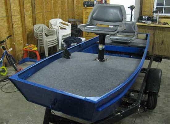 small jon boat modification