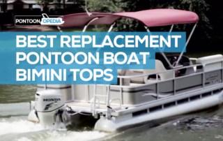 pontoon boat bimini tops replacement