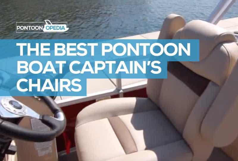 pontoon boat captains chair reviews