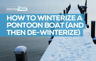 How to Winterize a Pontoon Boat