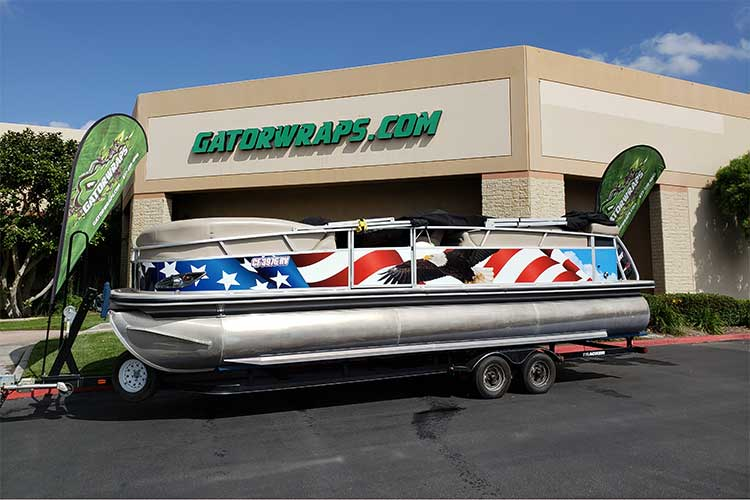 Pontoon Boat Wraps: Stunning Ideas for Graphics You Have to See!