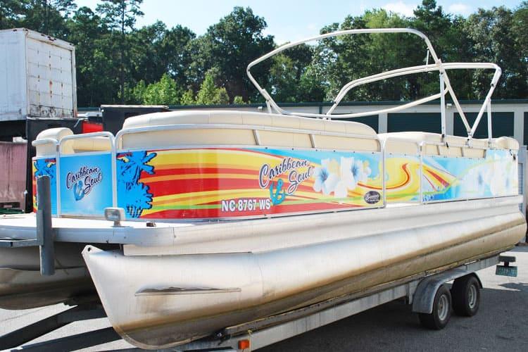 pontoon boat graphics cost