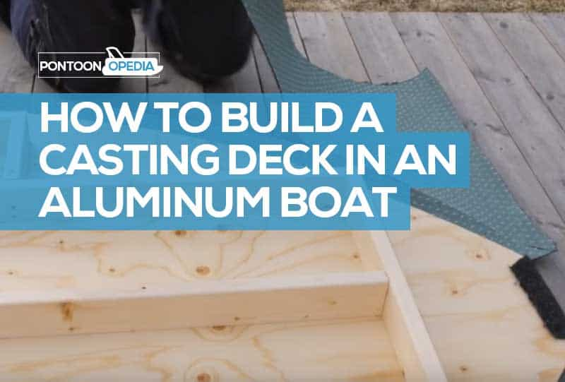 Fantastic How To Build A Casting Deck In An Aluminum Boat 6 Steps Video Ocoug Best Dining Table And Chair Ideas Images Ocougorg