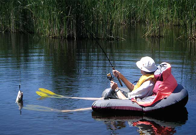 What Is Float Tube Fishing