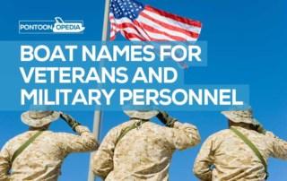 Boat names for military veterans