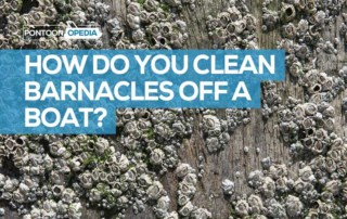 how do you clean barnacles off a boat