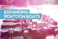 expanding pontoon boat