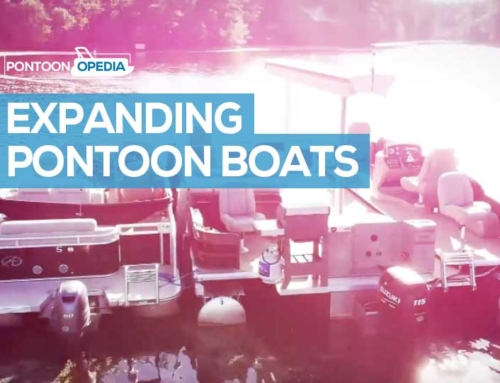 An Expanding Pontoon Boat That Really Exists!