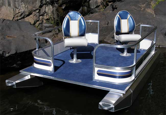 kennedy mini fishing pontoon boat review