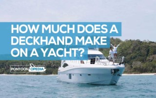 how much does a deckhand make on a yacht