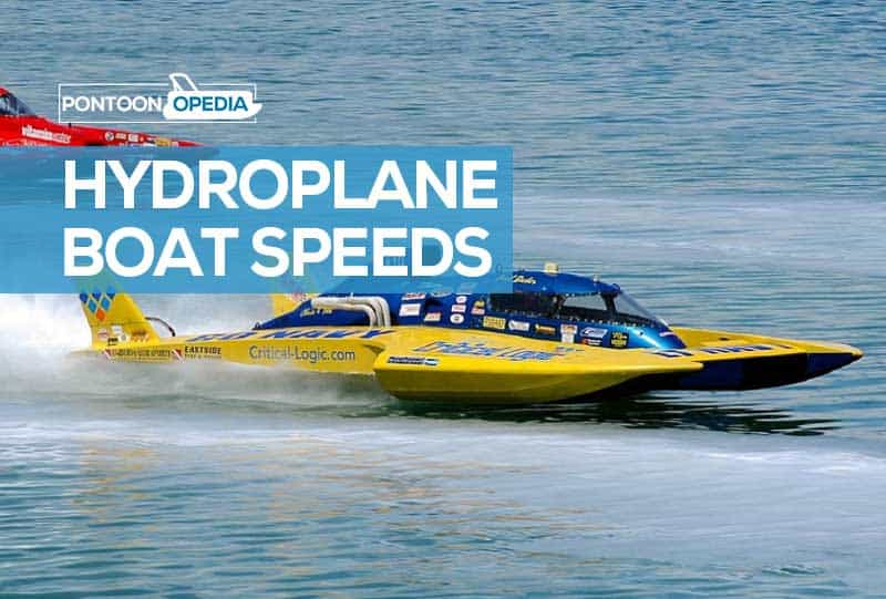 how fast does a hydroplane go