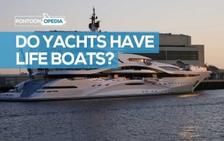 do yachts have lifeboats