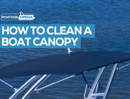 How to Clean a Boat Canopy & Canvas to Get Rid of Stains & Mildew
