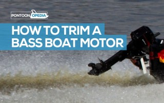 How to Trim a Bass Boat Motor