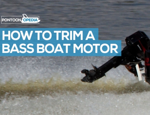 How to Trim a Bass Boat Motor in 5 Dead Simple Steps